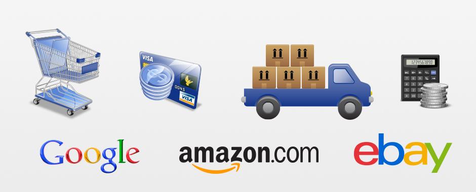 eCommerce - Shops - eBay - Amazon - Google Shopping und Co.