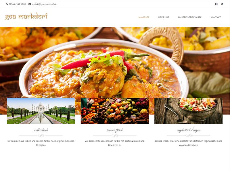 Goa Markdorf Webseite