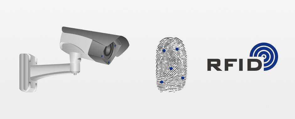Einbruchschutz mit Zutrittskontrolle und Videoüberwachung